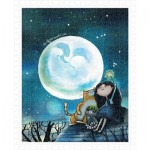 Pintoo-H1543 Plastic Puzzle - Starry Starry Night