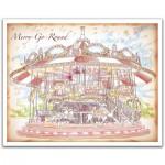 Pintoo-H1546 Plastic Puzzle-Merry Go Round