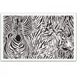 Pintoo-H1549 Plastic Puzzle - Extrême Puzzle : Animal Print