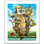 Pintoo-H1559 Plastic Puzzle - Colin Thompson - Norah's Castle