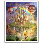 Pintoo-H1561 Plastic Puzzle - Ciro Marchetti : Tarot Town