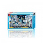 Pintoo-H1592 Plastic Puzzle - New York City