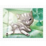 Pintoo-H1594 Plastic Puzzle - A Chilly Day