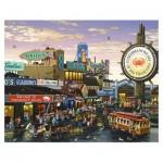 Pintoo-H1641 Plastic Puzzle - San Francisco