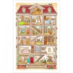 Pintoo-H1643 Plastic Puzzle - Sweet Home