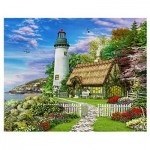 Pintoo-H1659 Plastic Puzzle - Dominic Davison - The Old Cottage