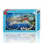 Pintoo-H1661 Plastic Puzzle - San Francisco