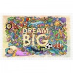 Pintoo-H1671 Plastic Puzzle - Dream Big