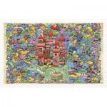 Pintoo-H1672 Plastic Puzzle - Mystical Castle