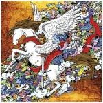 Pintoo-H1675 Plastic Puzzle - Pegasus