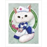 Pintoo-H1681 Plastic Puzzle - Ms. Chiu Chiu the Nurse