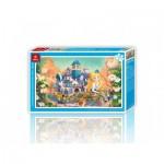 Pintoo-H1703 Plastic Puzzle - Alice in Wonderland
