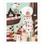 Pintoo-H1704 Plastic Puzzle - Nan Jun - Lighthouse