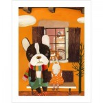 Pintoo-H1709 Plastic Puzzle - Nan Jun - Side by Side