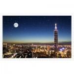 Pintoo-H1719 Plastic Puzzle - Taipei Skyline