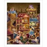 Pintoo-H1742 Plastic Puzzle - Alice in Wonderland