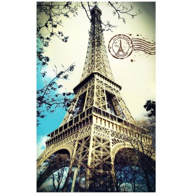 Pintoo-H1756 Plastic Puzzle - Eiffel Tower