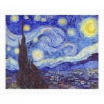 Pintoo-H1758 Plastic Puzzle - Vincent Van Gogh - The Starry Night, June 1889