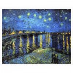 Pintoo-H1761 Plastic Puzzle - Vincent Van Gogh - Starry Night Over The Rhone, 1888