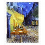Pintoo-H1762 Plastic Puzzle - Van Gogh Vincent - Cafe Terrace at Night