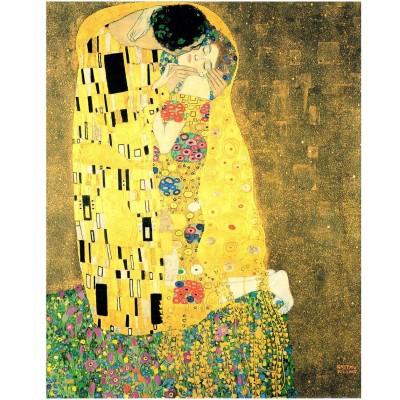 Pintoo-H1765 Plastic Puzzle - Klimt Gustav - The Kiss