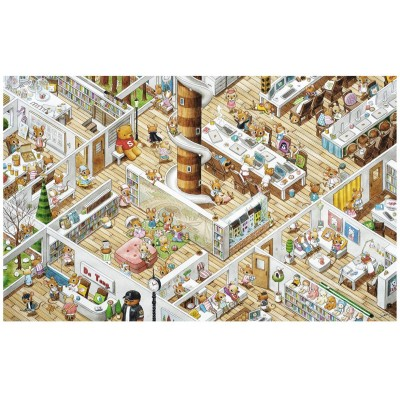 Pintoo-H1777 Plastic Puzzle - Smart - The Office