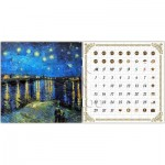 Puzzle  Pintoo-H1778 Calendar Showpiece - Van Gogh - Starry Night Over the Rhone