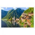 Pintoo-H1785 Plastic Puzzle - Lakeside Village of Hallstatt, Austria
