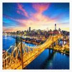 Pintoo-H1786 Plastic Puzzle - Manhattan with Queensboro Bridge, New York