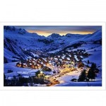 Pintoo-H1797 Plastic Puzzle - French Alps