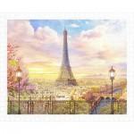 Pintoo-H1936 Plastic Puzzle - Romantic Paris