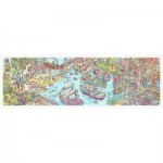 Pintoo-H1954 Plastic Puzzle - Tom Parker - Dino City and Bay