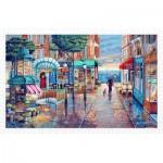 Pintoo-H1985 Plastic Puzzle - John O'Brien - Rainy Day Stroll
