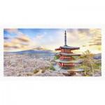 Pintoo-H2016 Plastic Puzzle - Fuji Sengen Shrine, Japan