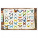 Pintoo-H2027 Plastic Puzzle - Beautiful Butterflies
