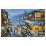 Pintoo-H2041 Plastic Puzzle - Evgeny Lushpin - Old Kyoto