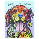 Pintoo-H2045 Plastic Puzzle - Dean Russo - Dog Is Love