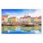 Pintoo-H2046 Plastic Puzzle - Old Nyhavn Port in Copenhagen
