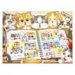 Pintoo-H2051 Plastic Puzzle - Kayomi - Kitten Memory Album