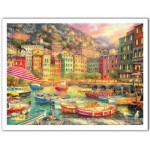 Pintoo-H2057 Plastic Puzzle - Chuck Pinson - Vibrance of Italy
