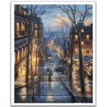 Pintoo-H2058 Plastic Puzzle - Evgeny Lushpin - Montmartre Spring