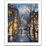 Pintoo-H2059 Plastic Puzzle - Evgeny Lushpin - Montmartre Spring