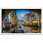 Pintoo-H2065 Plastic Puzzle - Evgeny Lushpin - Love is in the Air