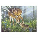 Pintoo-H2067 Plastic Puzzle - Abraham Hunter - Forest Friends
