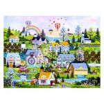 Pintoo-H2069 Plastic Puzzle - Jane Wooster Scott - Somewhere Over the Rainbow