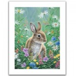 Pintoo-H2082 Plastic Puzzle - Abraham Hunter - Spring Bunny