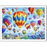Pintoo-H2085 Plastic Puzzle - Lars Stewart - Hot Air Balloon Festival