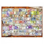 Pintoo-H2086 Plastic Puzzle - Garry Walton - Currency of the World