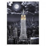 Pintoo-H2120 Plastic Puzzle - Darren Mundy - Empire State Building