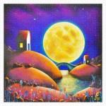 Pintoo-H2132 Plastic Puzzle - Darren Mundy - Golden Moon River
